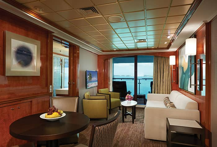 Suite familiar con 2 dormitorios en el Norwegian Dawn