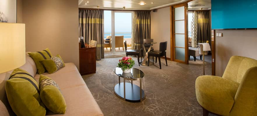 Owner's Suite avec grand balcon