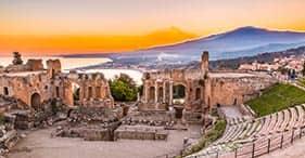 Beautiful Taormina & Mt. Etna