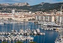 Toulon Bay by Boat