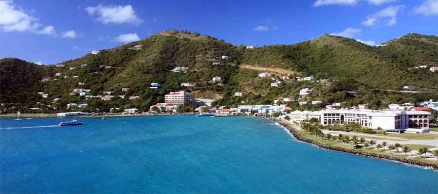 Küste von Tortola