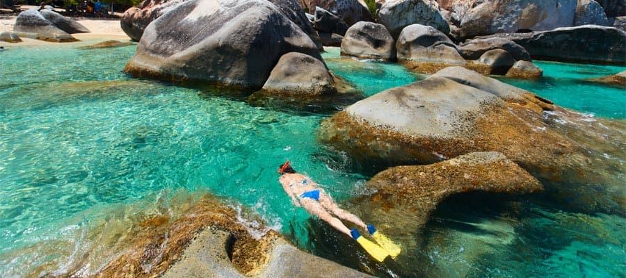 Schnorcheln in Tortola