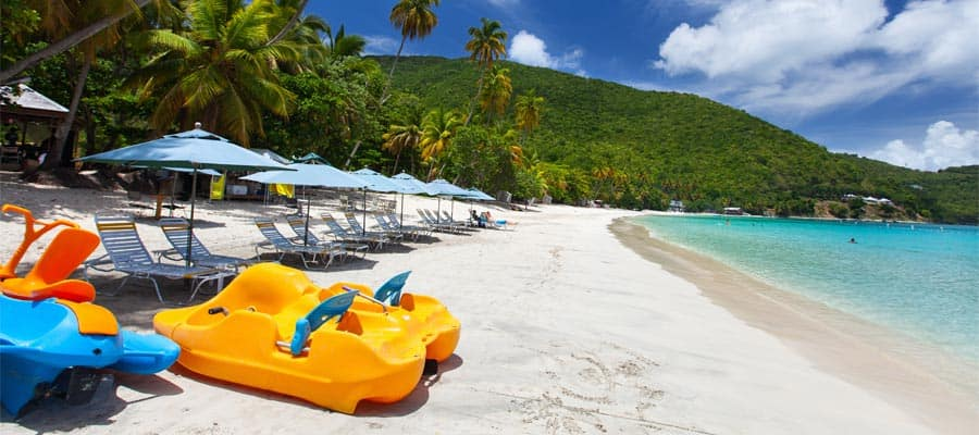Beach days are better in Tortola