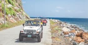 Jeep-Abenteuer & Erholung am Strand auf Tortola
