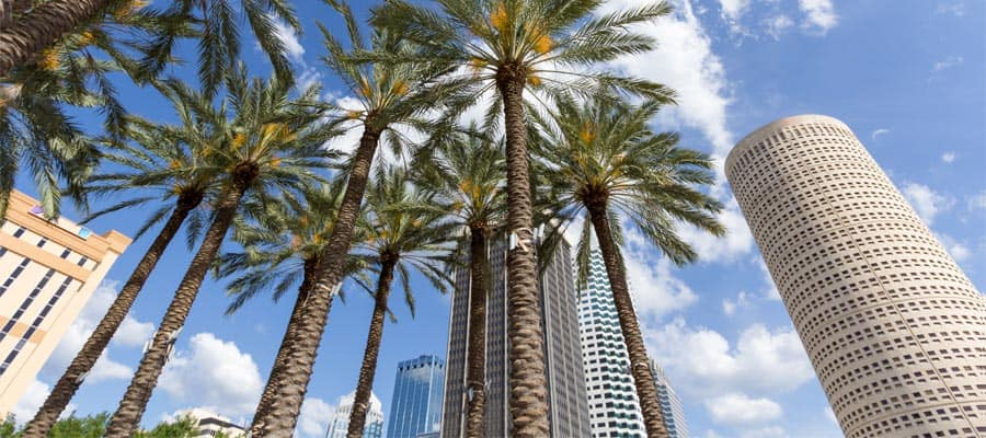 Visit downtown Tampa on your cruise