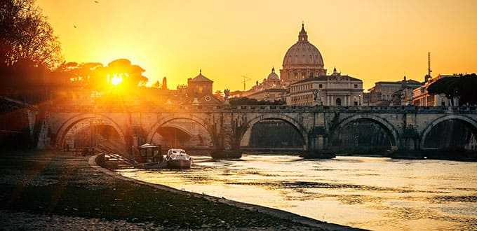 The majesty of Rome will steal your heart.