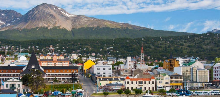 Cruise to Ushuaia Harbor