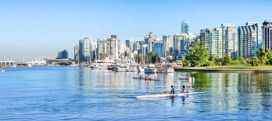 Cruise to the City of Vancouver
