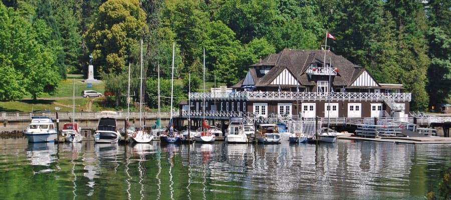 Stanley Park and Vancouver Waterfront on your Alaska cruise