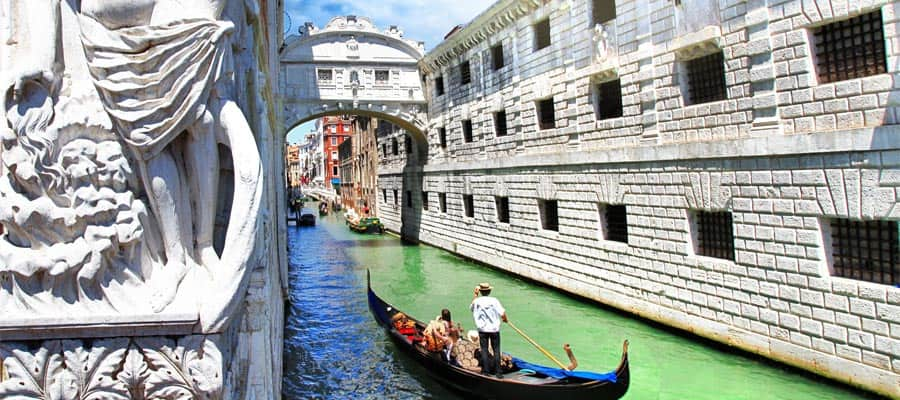 Cruise from Houston to the canals of Venice