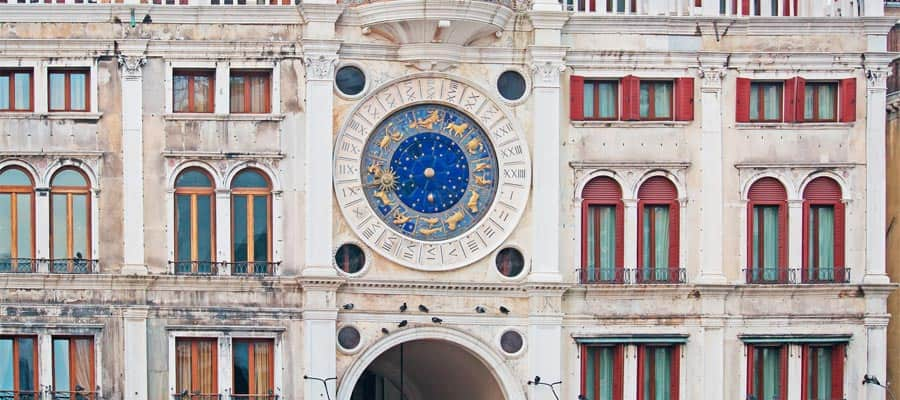 San Marco Clock Tower in Venice
