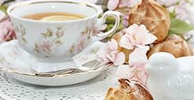 Jardines secretos y salón de té