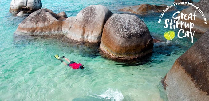 Unique adventures await you at the Baths in Virgin Gorda