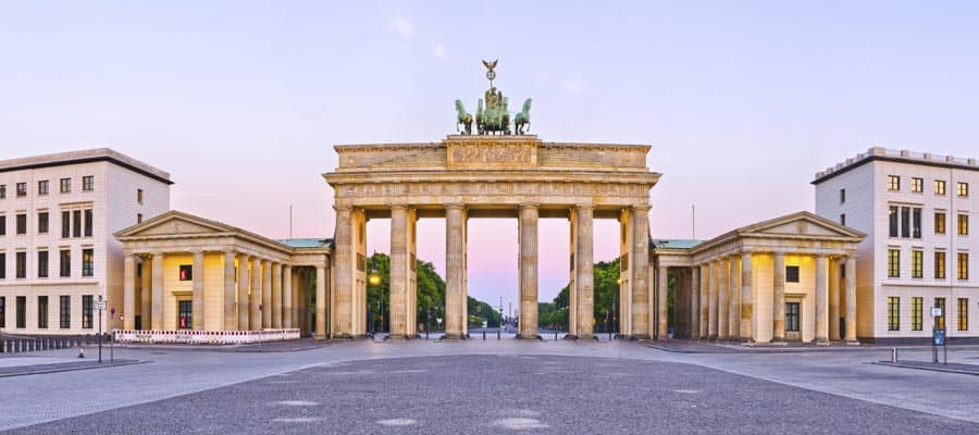 Brandenburg Gate on your Berlin cruise