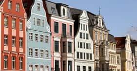 Rostock mit der Straßenbahn und Flusskreuzfahrt