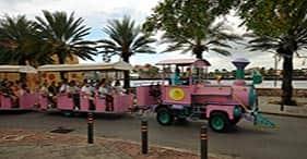 Trolley-Tour durch Willemstad