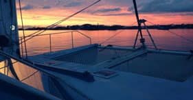 """White Hot"" Catamaran Sunset Sail"