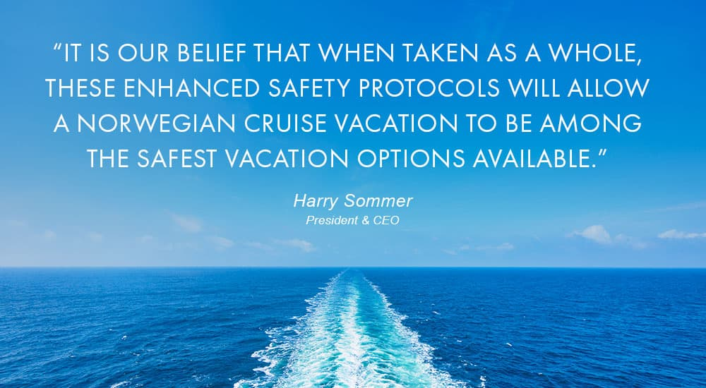 CEO Harry Sommer's Message on New Safety Protocols