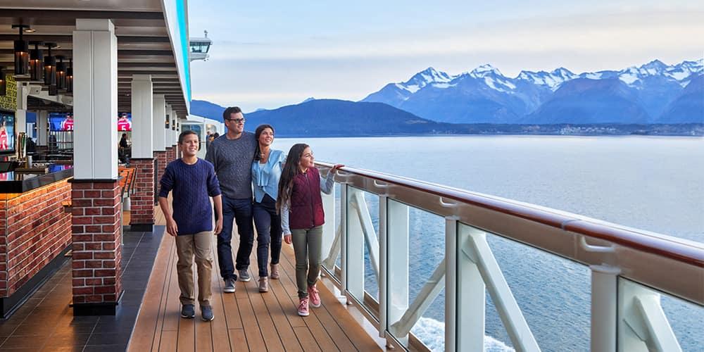 Cruise Without a Passport to Alaska