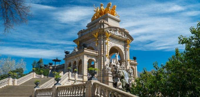 Parc de la Ciutadella - one of the many marvels of Barcelona