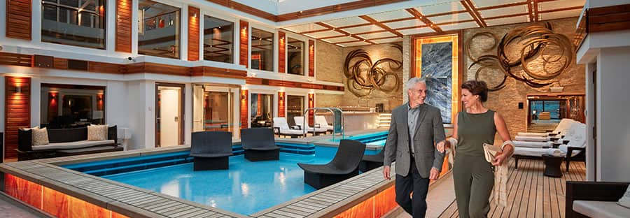 Luxury at sea the Haven by Norwegian