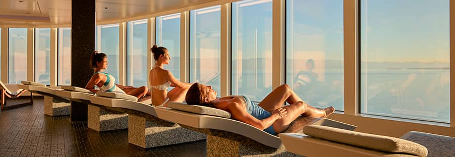 Erstklassiges Spa an Bord der Norwegian Bliss