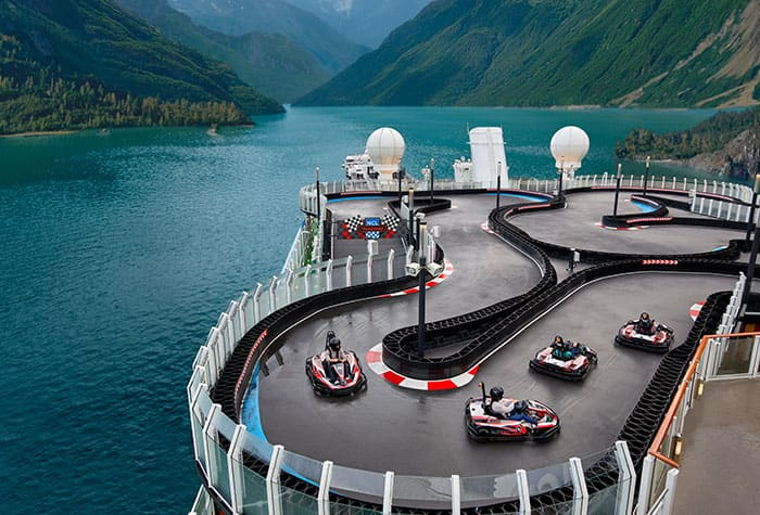 Experience the Thrilling Race Track