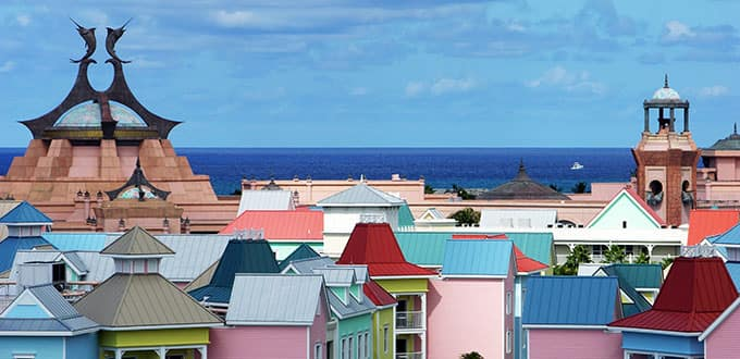See the color and feel the excitement of the Bahamas.