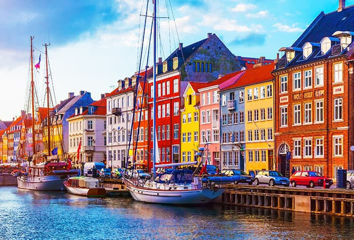 Cruceros a Copenhague, Dinamarca