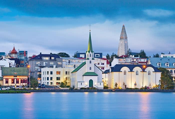 Kreuzfahrten nach Reykjavík, Island