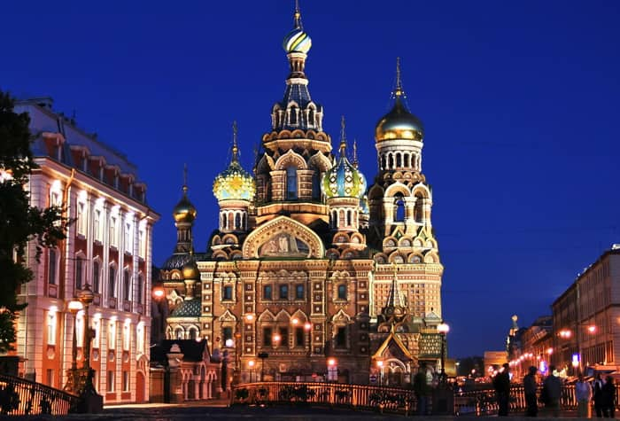 Cruises to St. Petersburg, Russia