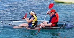 Clear Kayak & Beach Snorkel