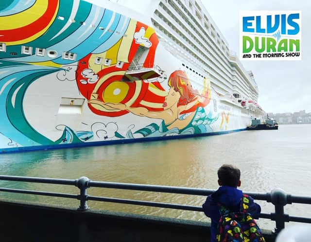 Elvis Duran and the Morning Show's Danielle Cruises with Norwegian