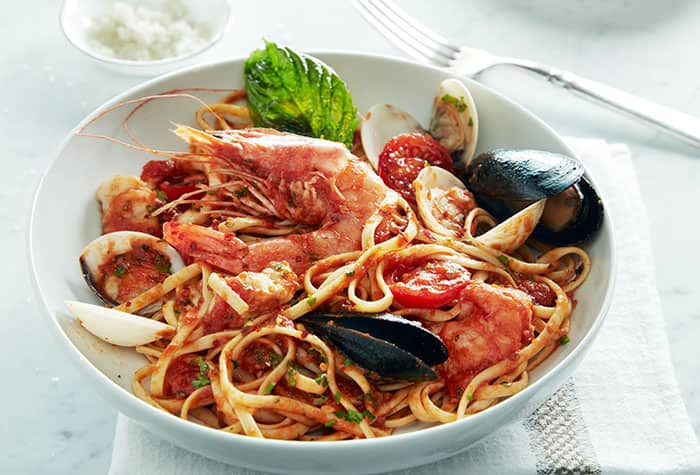 Seafood at La Cucina