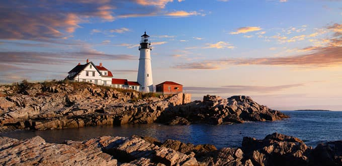 Light up your soul in Portland, Maine.
