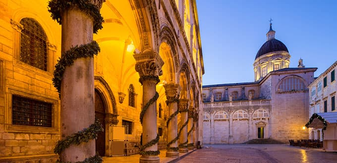 Dubrovnik's grand architecture will astound you