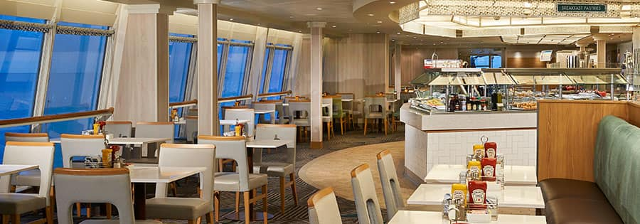 Garden Café a bordo do Norwegian Sky