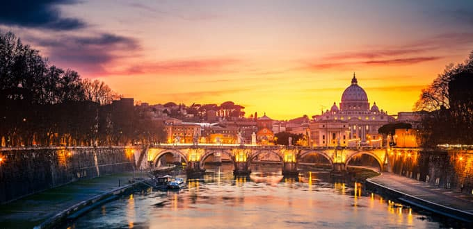 4-Days in Rome + 4-Day Cruise