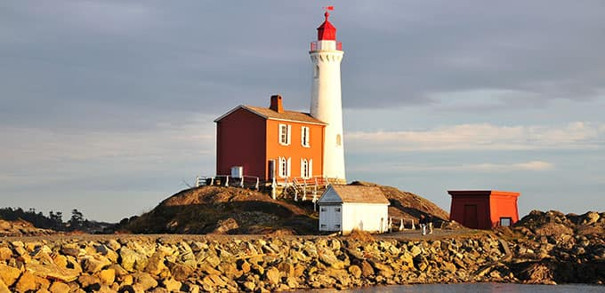 Visit the historic first lighthouse in Victoria.