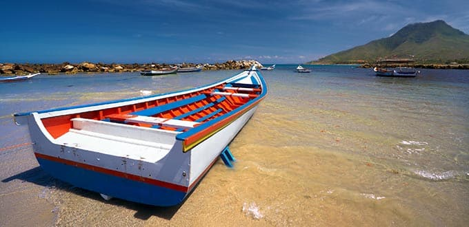 Experience the calming beaches of the Caribbean