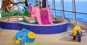 Norwegian Gem cruise ship Kid's Pool for children only.