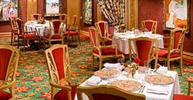 Norwegian Gem cruise ship Le Bistro French Restaurant.