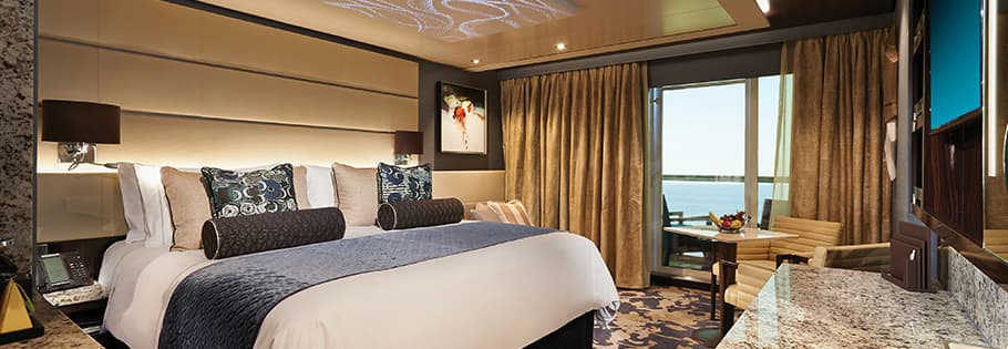 Luxurious Accommodation on board Norwegian Bliss