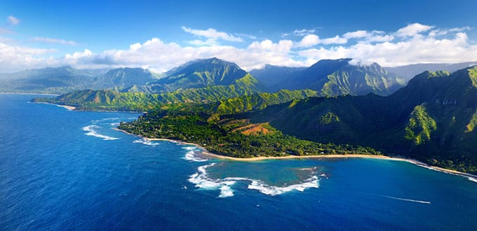 Bask in the sights of the Napali Coast
