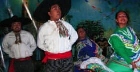 Mexican Dance & Colors Folklore