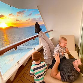 Enjoy a Mediterranean cruise with your family on Europe's Leading Cruise Line.