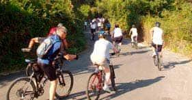 Excursion en vélo tout terrain