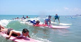 Surfing Lessons at Cocoa Beach