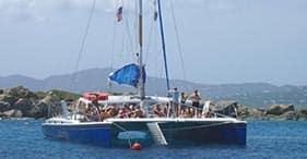 Segelfahrt auf der Castaway zum Schiffswrack und Schnorchelabenteuer