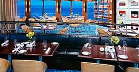 Norwegian Jewel cruise ship Blue Lagoon 24-hour family friendly dining.